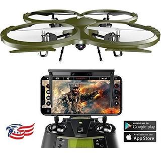 Kolibri Delta-recon Drone Cámara De Alta Definición Con La A