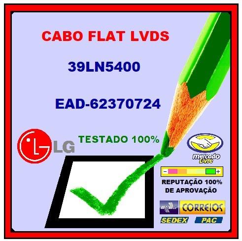 Cabo Flat Lvds Lg 39ln5400 Ead62370724 Ead62370714