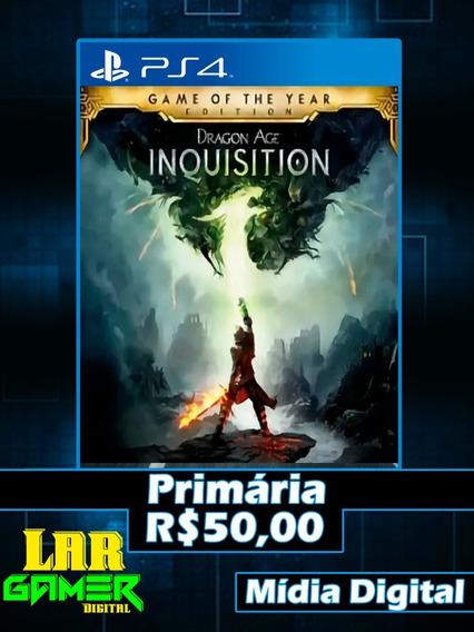 Dragon Age Inquisition Ps4 (mídia Digital)