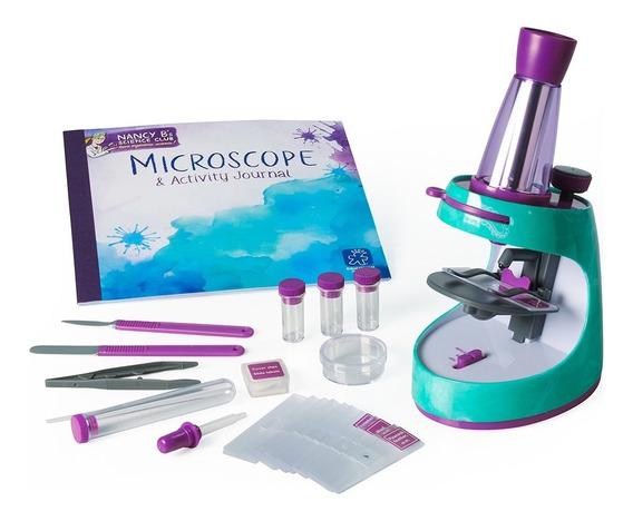 Microscopio Y Diario De Actividades Nancy B