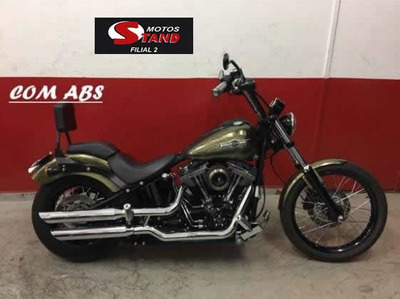 Harley Davidson Softail Black Line Blackline 2013 Preta