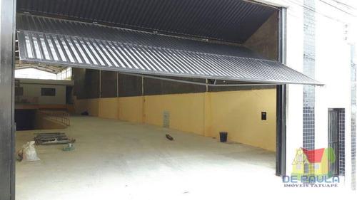 Galpão Para Alugar, 1100 M² Por R$ 17.000,00/mês - Vila Bela - São Paulo/sp - Ga0042