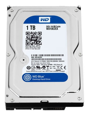 Disco Duro 1tb Pc Dvr Western Digital Sata 7200rp 6gb/s Nnet