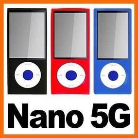 Capa De Silicone P/ Ipod Nano 5 Geração * Transparente *