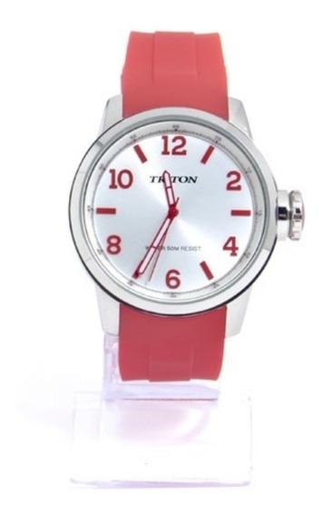 Relógio Feminino Prata Triton Eyewear Mtx184