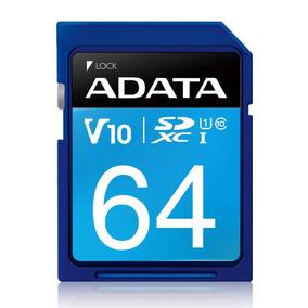 Memória Sd 64gb Adata Ultra 100mb/s Classe 10