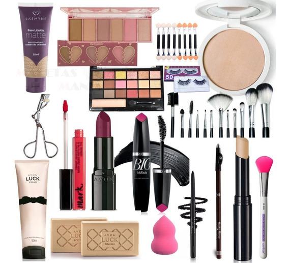 Maleta Maquiagem Grande Completa Profissional V379 Avon Make