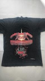 Camiseta U2 360 Tour Brasil Usada Tam P Item Raro Oficial