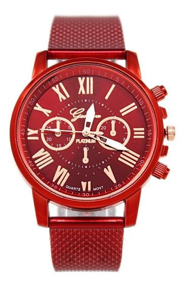 Reloj Hombre Bonny 2 Rojo Geneva