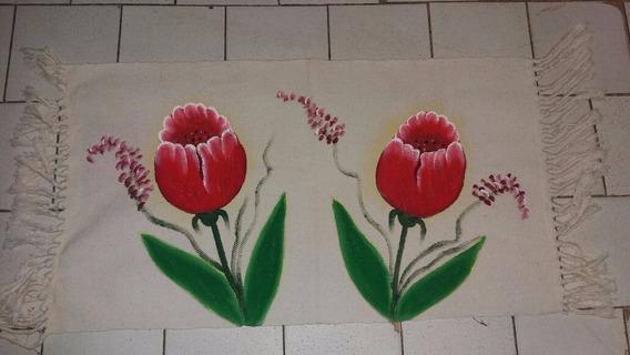Tapete Artesanal Pintado À Mão