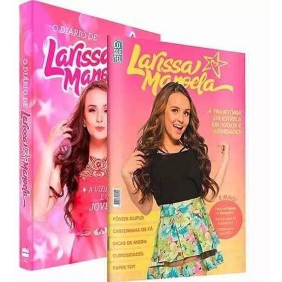 Kit Diário De Larissa Manoela + A Trajetória Da Estrela