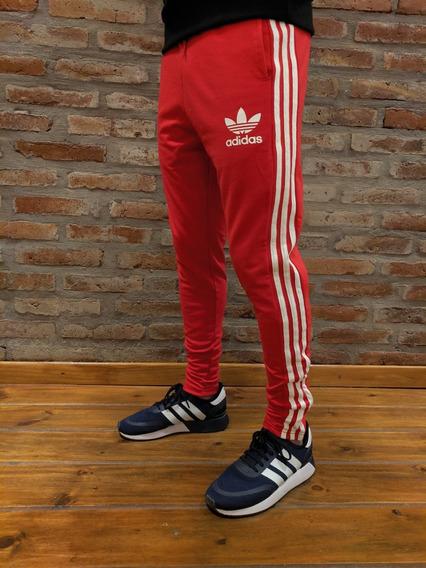 Jogging adidas Hombre Algodón Elástizado