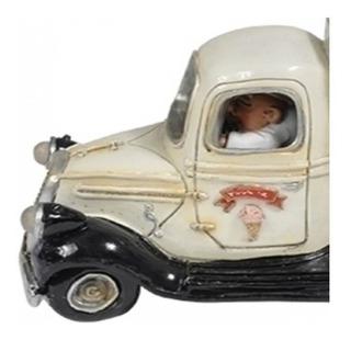 Miniatura Caricatura Carro Sorvete Cofre Com Abridor Sj
