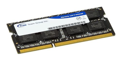 Memoria Ram Team Group Ddr3 4gb 1333mhz Sodimm Laptop Nueva