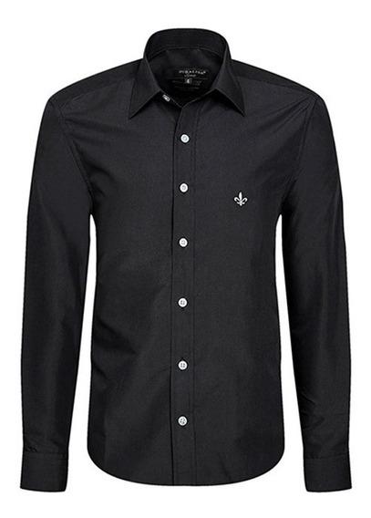 Camisa Social Masculina Black Slim Fit