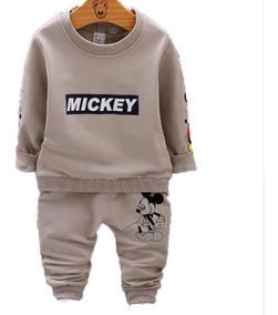 Conjunto Infantil Masculino Roupa De Frio Menino 1 E 3 Anos