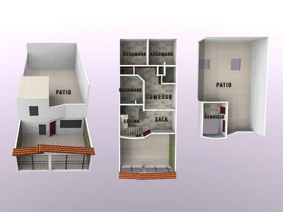 Casa En Venta Villa Flores Coacalco Eje 3 & Zarzaparrillas
