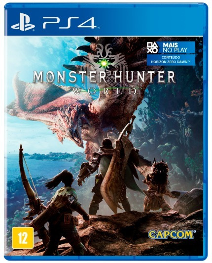 Monster Hunter World - Ps4 - Novo - Midia Fisica - Lacrado