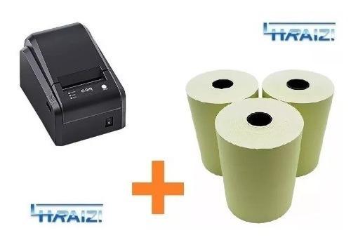 Impressora Elgin I7 + 3 Bobinas 80mm