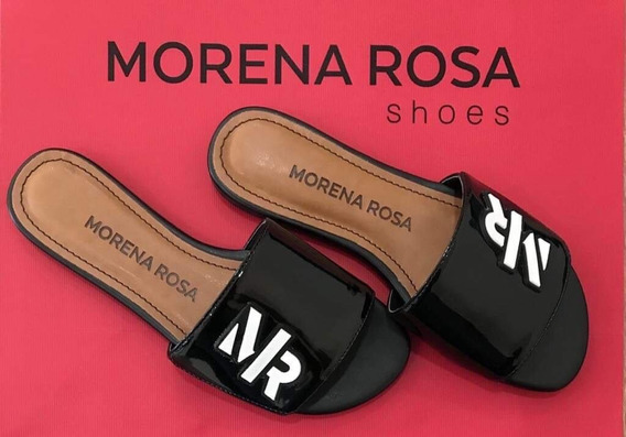 Chinelo Slide Morena Rosa Shoes Enfeite Emborrachado