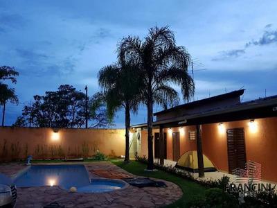 Chácara Para Venda Em Bauru, Chacará Vale Do Igapó Troco Por Apto, 2 Dormitórios, 2 Suítes, 4 Banheiros, 4 Vagas - 7782