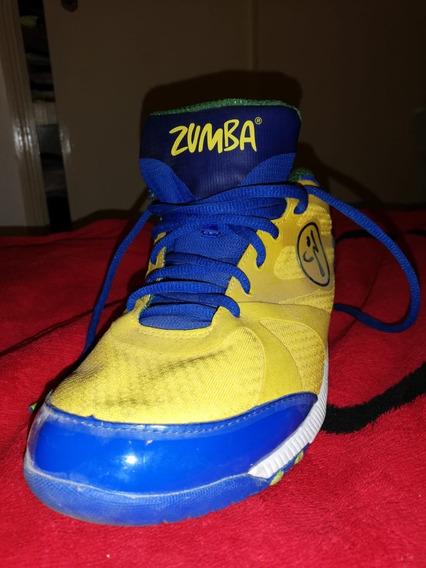 Tennis Zumba 3 Puestas Semi Nuevos