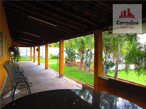 Chácara Residencial À Venda, Tupi, Piracicaba - Ca0478. - Ch0044