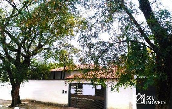Casa Residencial Para Locação, Brasil, Itu. - Ca1432