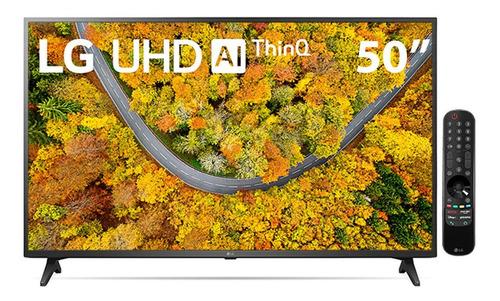 Imagem 1 de 4 de Smart Tv LG 50 4k Led 50up7550 Wifi Bluetooth Hdr Thinq  Sma