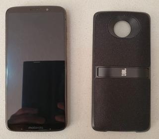Celular Motorola Moto Z3 Play 6gb 128gb + Motomod Bocina Jbl