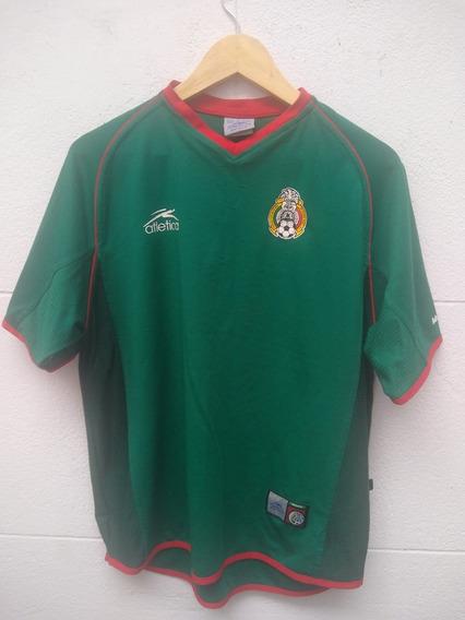 Camiseta Selección Mexico Talle Niño Atlética