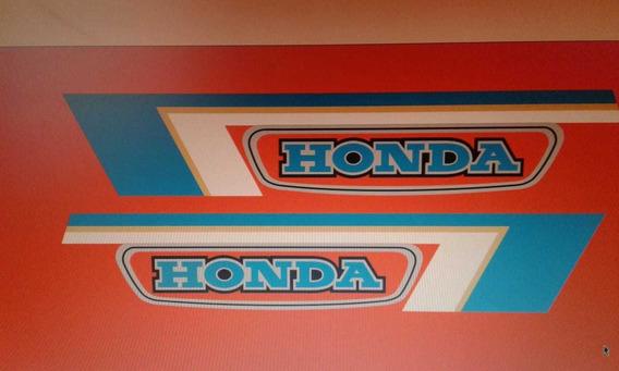 Honda C90 Calcos Tanque Retro Únicas!!