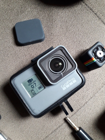 Camera Gopro Hero 5 Black Action Cam + Mini Cam E Acessorios