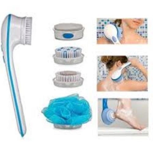 Esponja Com Acessorios Banho Escova Limpeza Pele Esfoliador