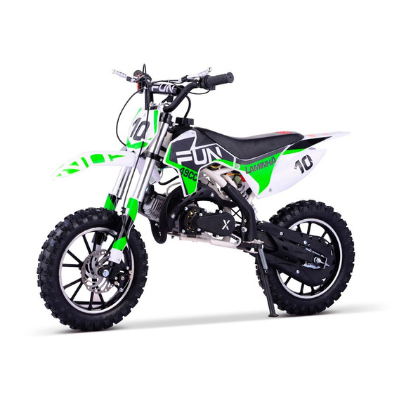 Mini Moto Cross Infantil Laminha 49cc Qec Off Road