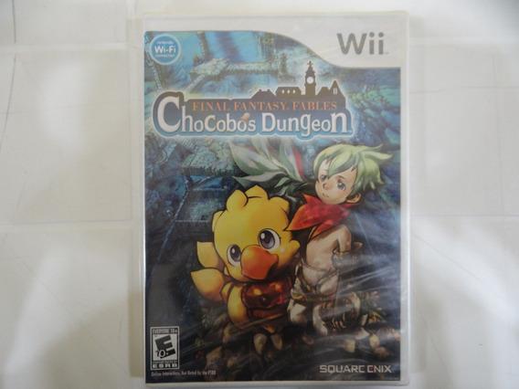 Final Fantasy Fables Chocobos Dungeon - Wii - Lacrado!