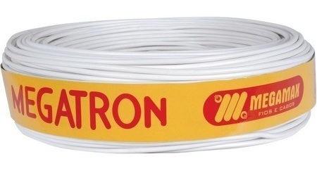 Kit 5 Cabo 4 Vias Megatron Alarme Rolo 100 Metros 100% Cobre
