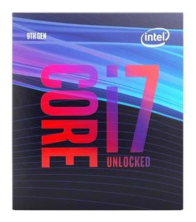 Procesador gamer Intel Core i7-9700K BX80684I79700K de 8 núcleos y 4.9GHz de frecuencia con gráfica integrada