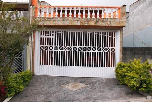 Sobrado À Venda, 3 Quartos, 1 Suíte, 3 Vagas, Montanhão - São Bernardo Do Campo/sp - 32245