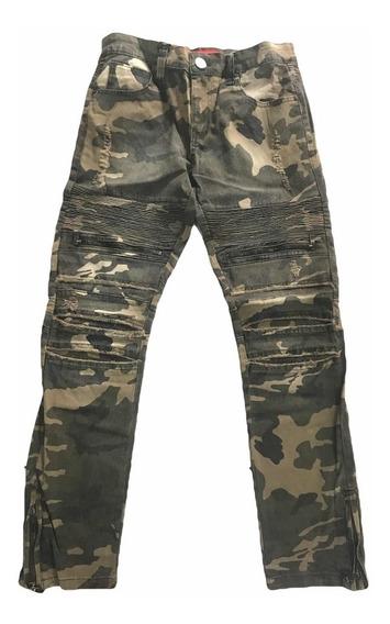 Pantalón Militar Hombre Tipo Biker - Entrega Inmediata!!
