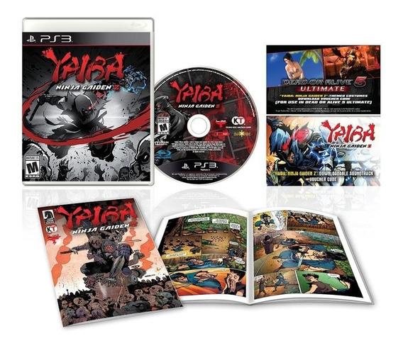 Jogo Yaiba Ninja Gaiden Z Special Edition Ps3 Mídia Física