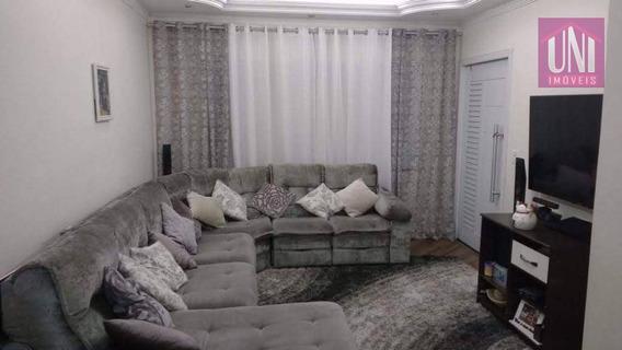 Sobrado Com 3 Dormitórios À Venda, 176 M² Por R$ 560.000 - Parque Oratório - Santo André/sp - So0554