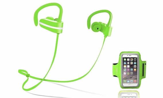 Sport Earbuds, Jarv Mach 1 Wireless Earphones Sweatproof Ru