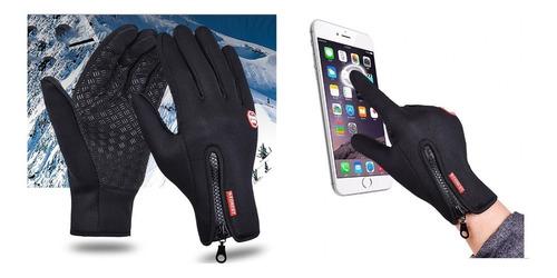 Guantes Tactil Celular Ciclismo Moto Montaña Kart Termico