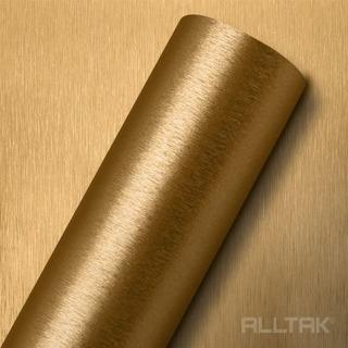 Vinil Adesivo Aço Escovado Gold 1,22 X 1,00