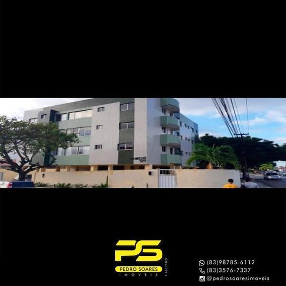 Apartamento Com 2 Dormitórios Para Alugar, 60 M² Por R$ 1.100,00/mês - Bairro Dos Estados - João Pessoa/pb - Ap3083