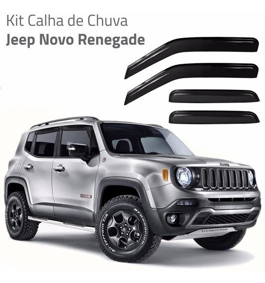 Jeep Renegade 2015 2016 Lançamento Calha De Chuva Acessorios