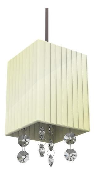 Kit 2 Luminária Pendente Balcão Criado Mudo C/lâmp Led 826