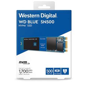 Ssd M.2 500gb Wd Blue Pci-e Nvme Wds500g1b0c Sn500 1700mbs