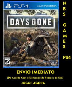 Jogo Days Gone - Ps4 - Original 1 - Envio Na Hora !!!
